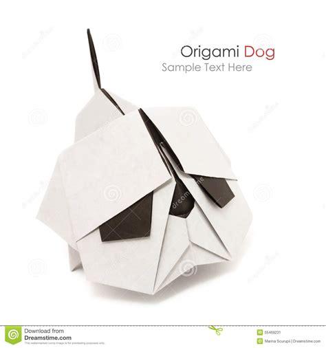 origami bulldog origami bulldog stock photo image 55469231