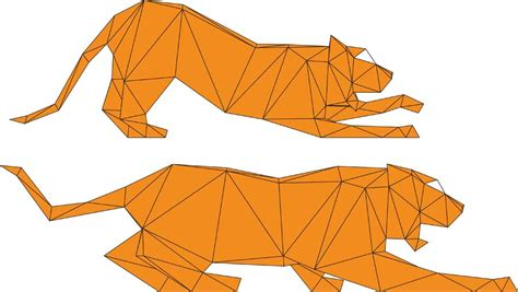origami tiger easy 1000 images about origami cat on origami cat