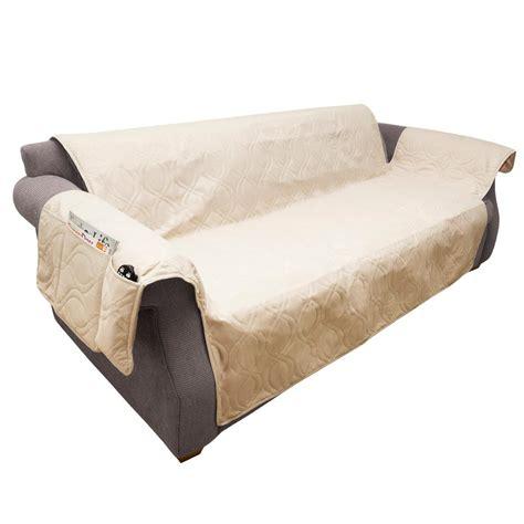 waterproof sofa slipcover petmaker non slip waterproof sofa slipcover m320124