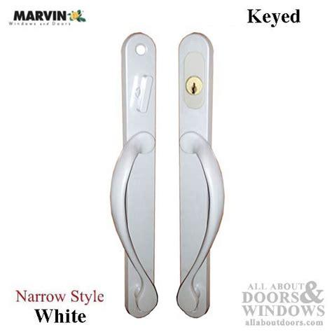 keyed patio door handle marvin narrow traditional keyed sliding patio door handle