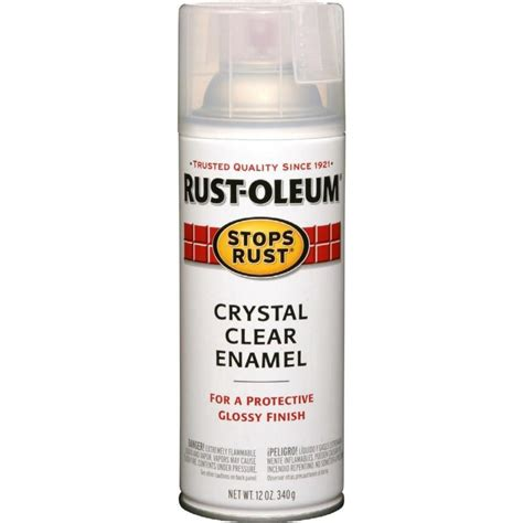 spray painting enamel shop rust oleum stops rust clear rust resistant