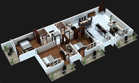 three bedroom house interior designs 3 bedroom apartment house plans