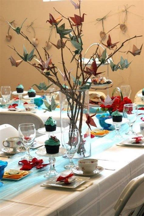 origami centerpieces wedding 17 best ideas about twig centerpieces on twig