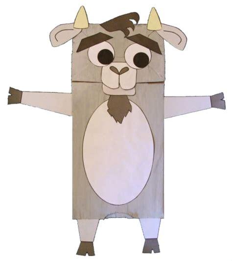 goat craft for paper bag goat craft