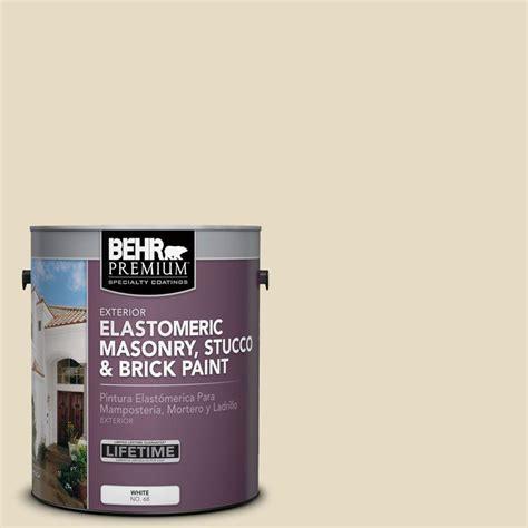 home depot paint navajo white behr premium 1 gal ms 40 navajo white elastomeric