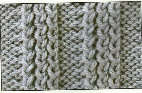 knit tbl stitch chain panel knitting stitch a lovely stich for you to learn