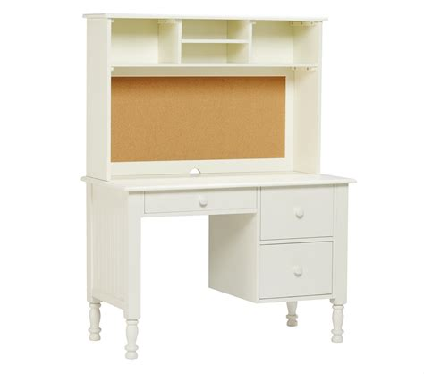 desk with small hutch storage desk small hutch pottery barn