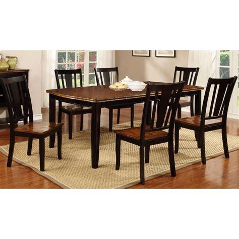 black 5 dining set dover black cherry 5 dining set