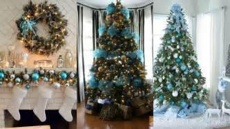 ideas arboles de navidad decoraci 211 n de 193 rbol de navidad azul ideas para decorar