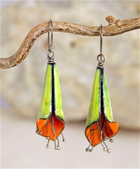 how to make copper enamel jewelry copper enamel flower earrings jewelry journal