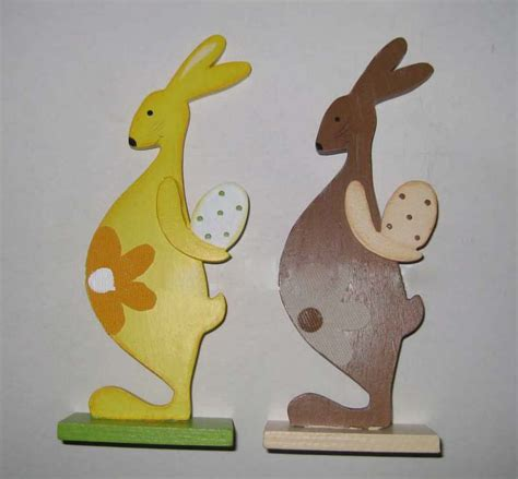 rabbit woodworking china wooden rabbit craft china easter decoration
