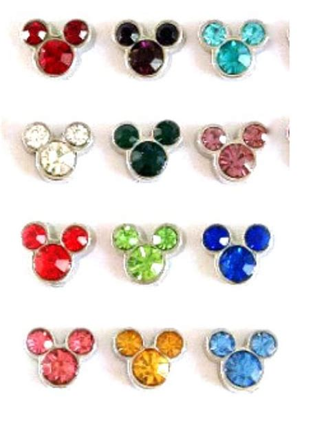 origami owl birthstone charms new floating charms birthstones mickey mouse disney