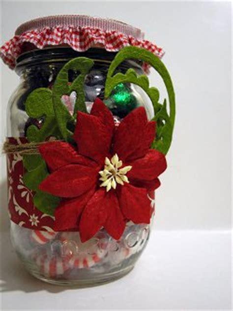 all free crafts gorgeous poinsettia jar allfreechristmascrafts
