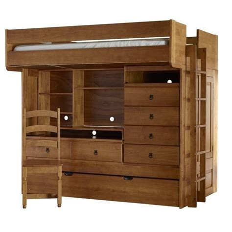 powell bunk bed powell furniture wyatt bunk bed with trundle in