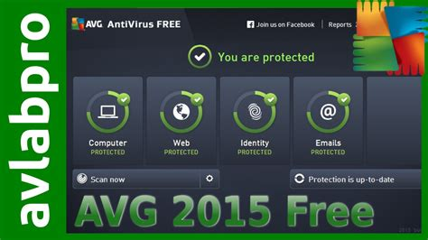 free version avg 2015 free antivirus install and advanced settings