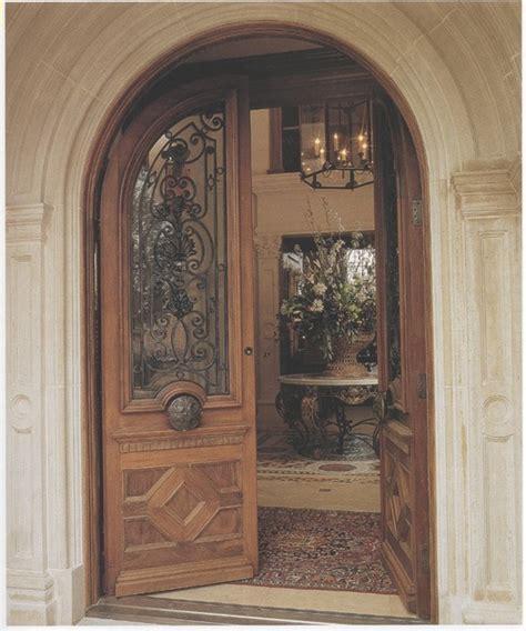 mediterranean front door custom mahogany arched doors mediterranean