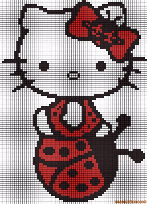 hello hama bead pattern hello ladybug perler bead pattern free hama perler