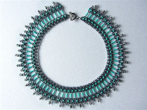 free beaded jewelry patterns free beading pattern for beaded necklace green island