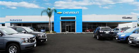 Chevrolet And Cadillac by Paradise Chevrolet Cadillac Temecula Valley Auto Mall