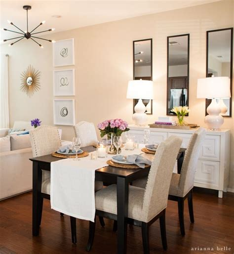 decorating ideas for small dining rooms best 20 apartment dining rooms ideas on
