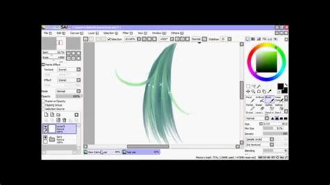 paint tool sai gmail how to color draw hair in paint tool sai