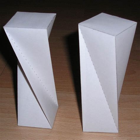 origami rectangular prism paper twisted rectangular prism rectangular antiprism
