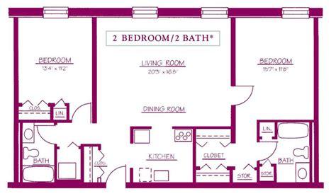 2 bedroom 2 bath floor plans residential apartments moravian square moravian square