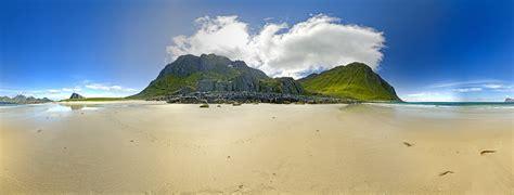 panorama island strand insel felsen wolken meer sea wasser norwegen