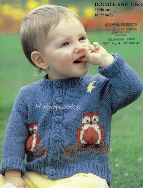 knitting motifs for babies and baby knitting pattern baby owl motif cardigan baby cardigan