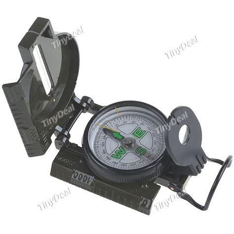 rubber hedgehog sts classic lensatic compass for hiking hui 4961 tinydeal