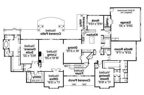 traditional floor plans traditional house plans monticello 30 734 associated designs