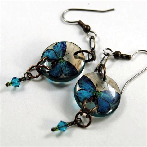 best resin for jewelry 92 best images about butterfly resin jewelry about many