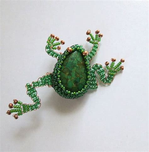 beaded frog 1000 images about bead frogs on beaded