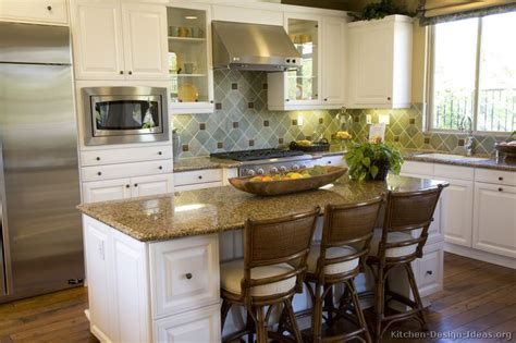 decorating kitchen island pictures of kitchens traditional white kitchen cabinets page 2