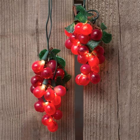 grape cluster string lights grape cluster string lights indoor outdoor 35 lights