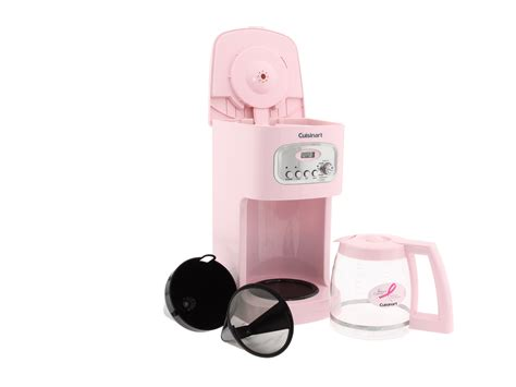 Cuisinart Dcc 1100pk 12 Cup Programmable Coffee Maker Pink   Shipped Free at Zappos