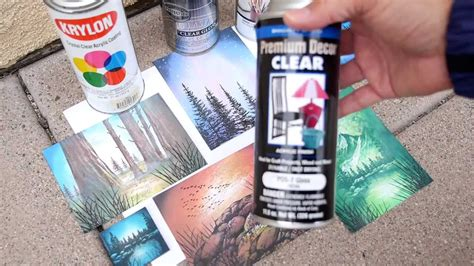 spray paint newspaper stscapes 101 70 acrylic sprays finishing your