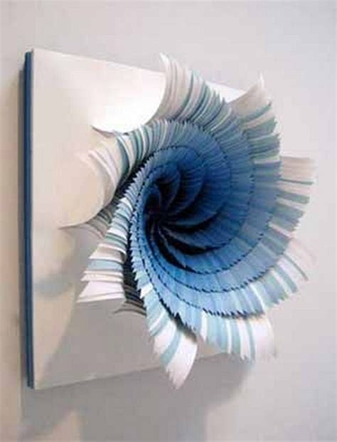 paper craft for wall decoration wall decor ideas with paper recycled things