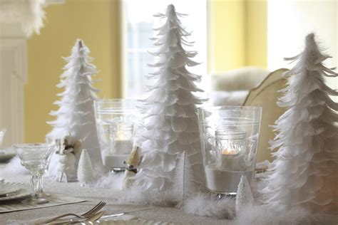 all white tree decorations 30 eye catching table centerpieces ideas