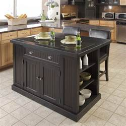 discounted kitchen islands black kitchen island with stools discount islands