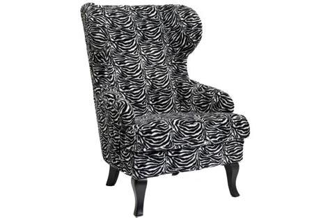 fauteuil 224 oreilles zebra fauteuil design pas cher