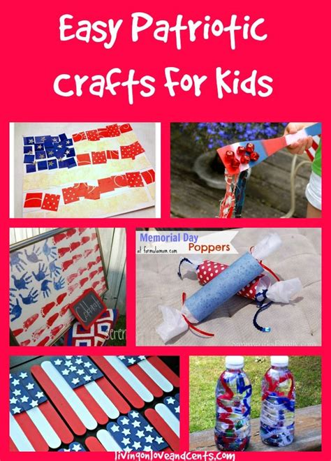 easy day crafts for easy patriotic crafts for 4th of july memorial day