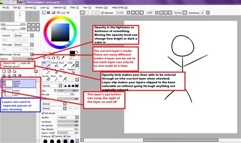 paint tool sai clipping tutorial paint tool sai tutorial layer tool bar by cutiep0x on