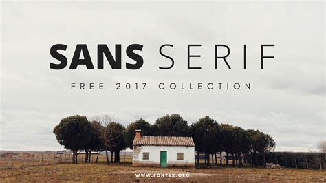 best free best new sans serif fonts for 2017 62 free downloads