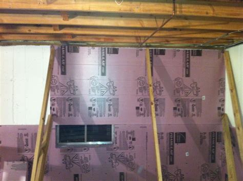 what of insulation for basement installing rigid foam insulation for your basement