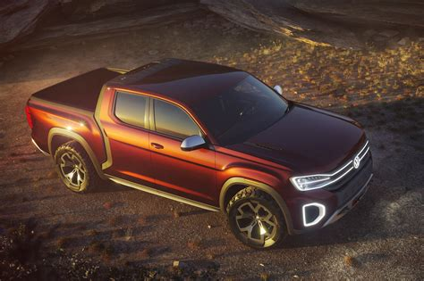New Volkswagen Truck by The Volkswagen Tanoak Is An Atlas Based Truck