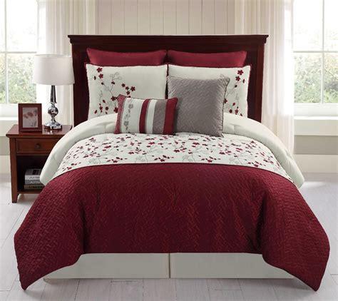 sheet and comforter set 8 embroidered comforter set