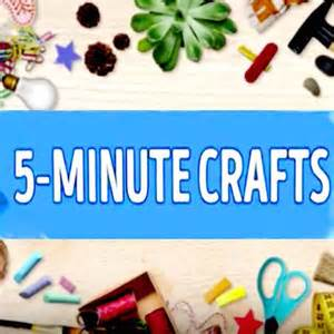 crafts for 5 5 minute crafts for pc