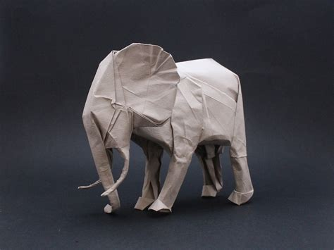white elephant origami origami safari 26 beautiful animals made out of paper