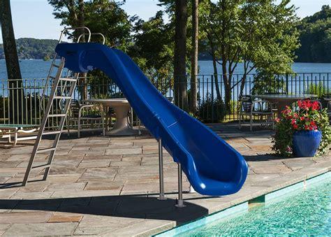 backyard pool slides water slide for backyard pool backyard design ideas